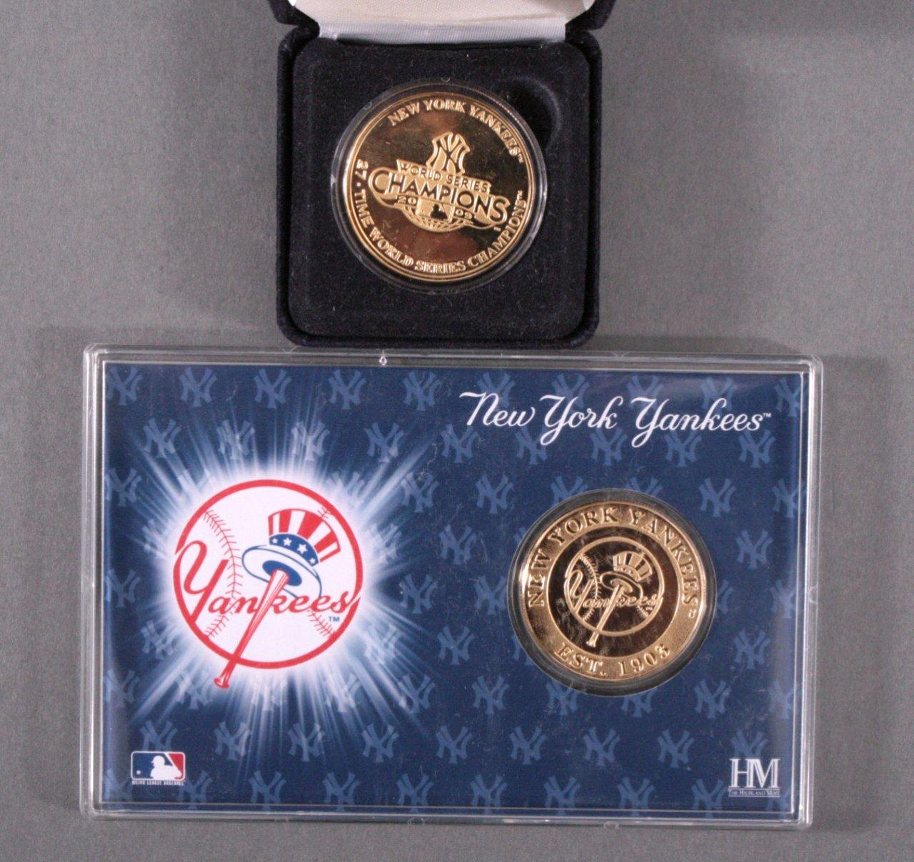 2 Medaillen New Yoek Yankees