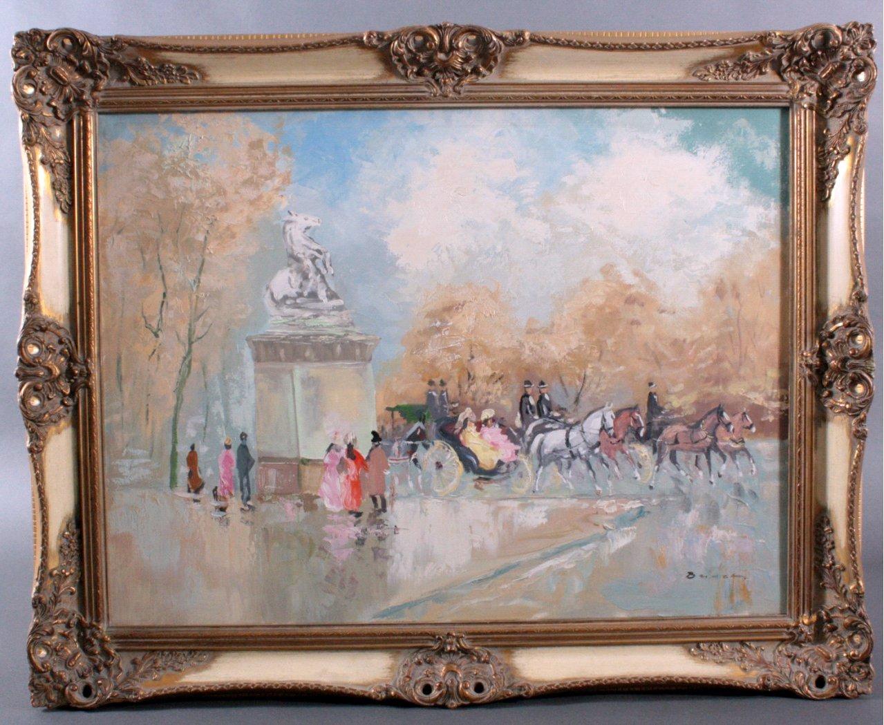 H. Busch, Königschloss Paris um 1900