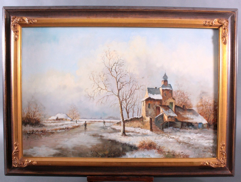 Mulder ?-?, Winterliche Landschaft