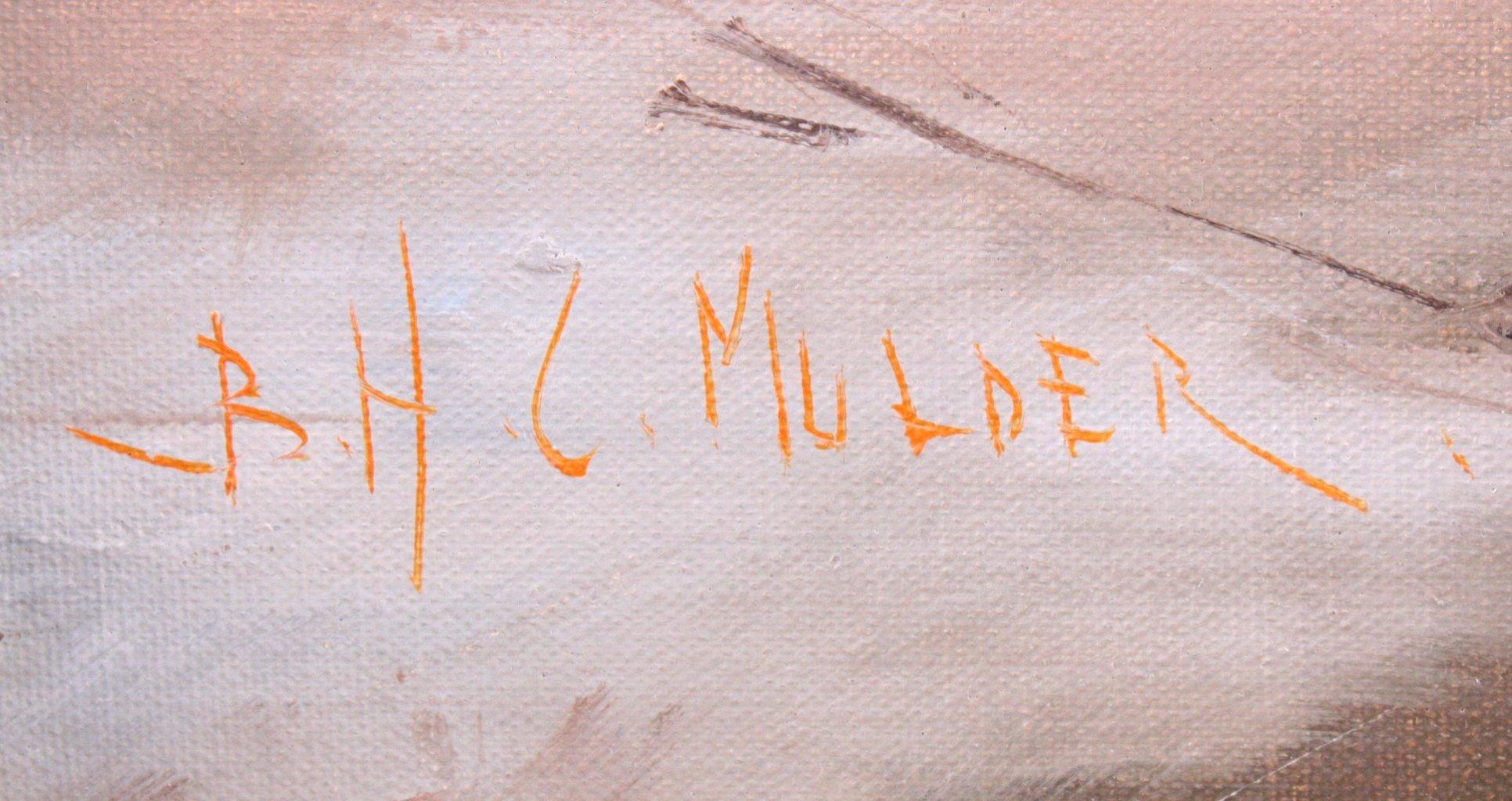 Mulder ?-?, Winterliche Landschaft-2