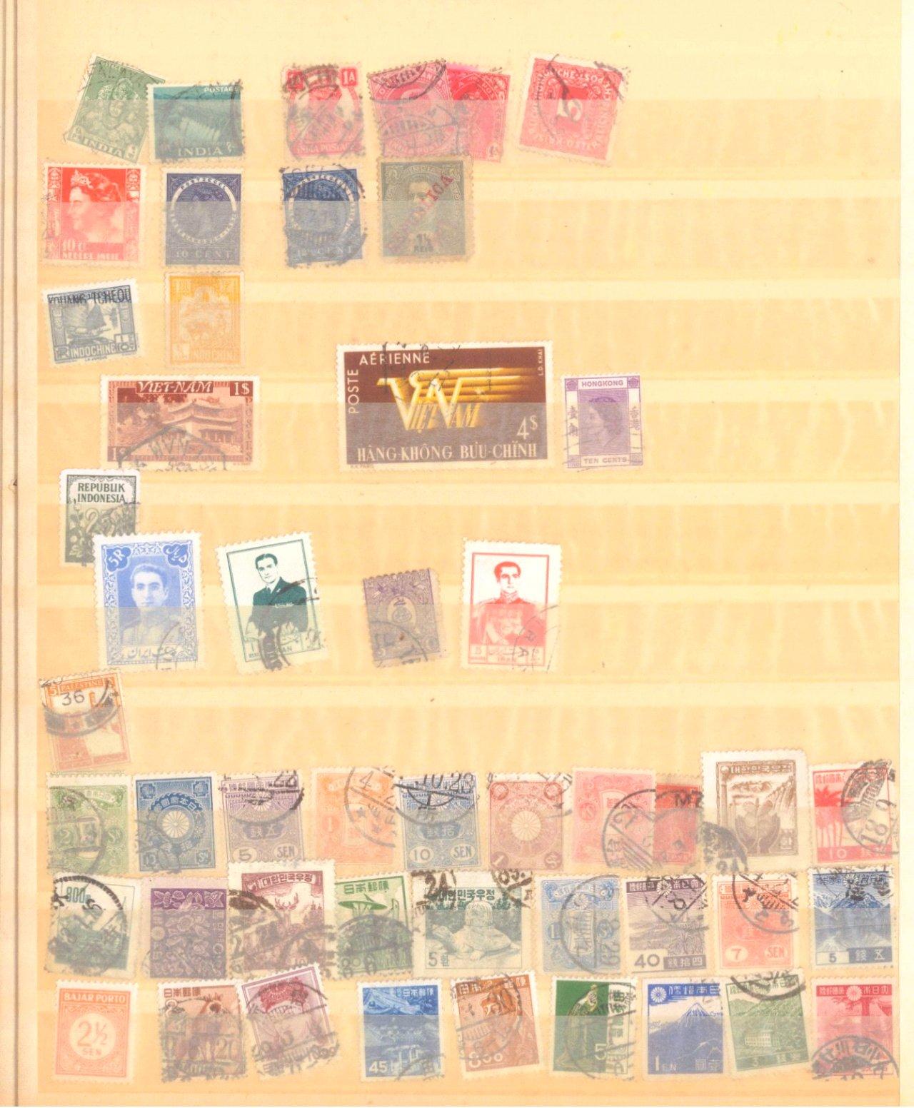 Buntes Sammelsurium, auch China, Deutsches Reich-1