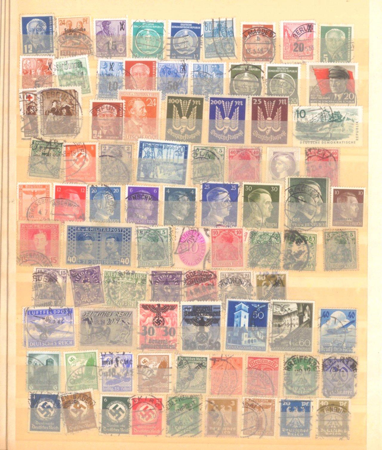 Buntes Sammelsurium, auch China, Deutsches Reich-2