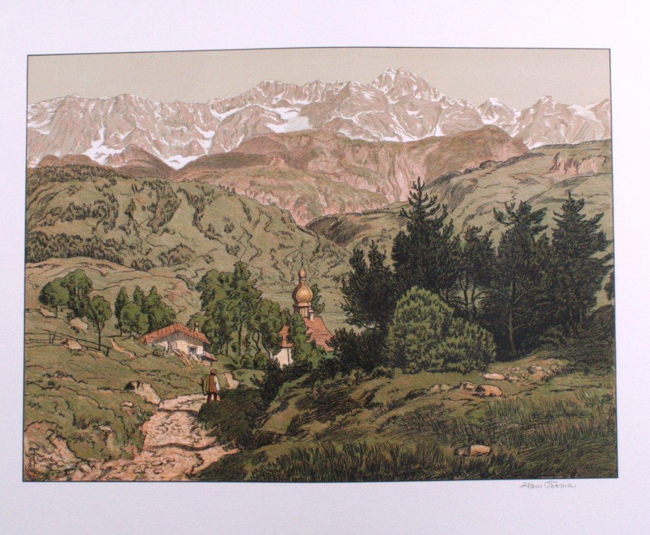 Hans Thoma 1839-1924. St. Anton bei Partenkirchen (1906)