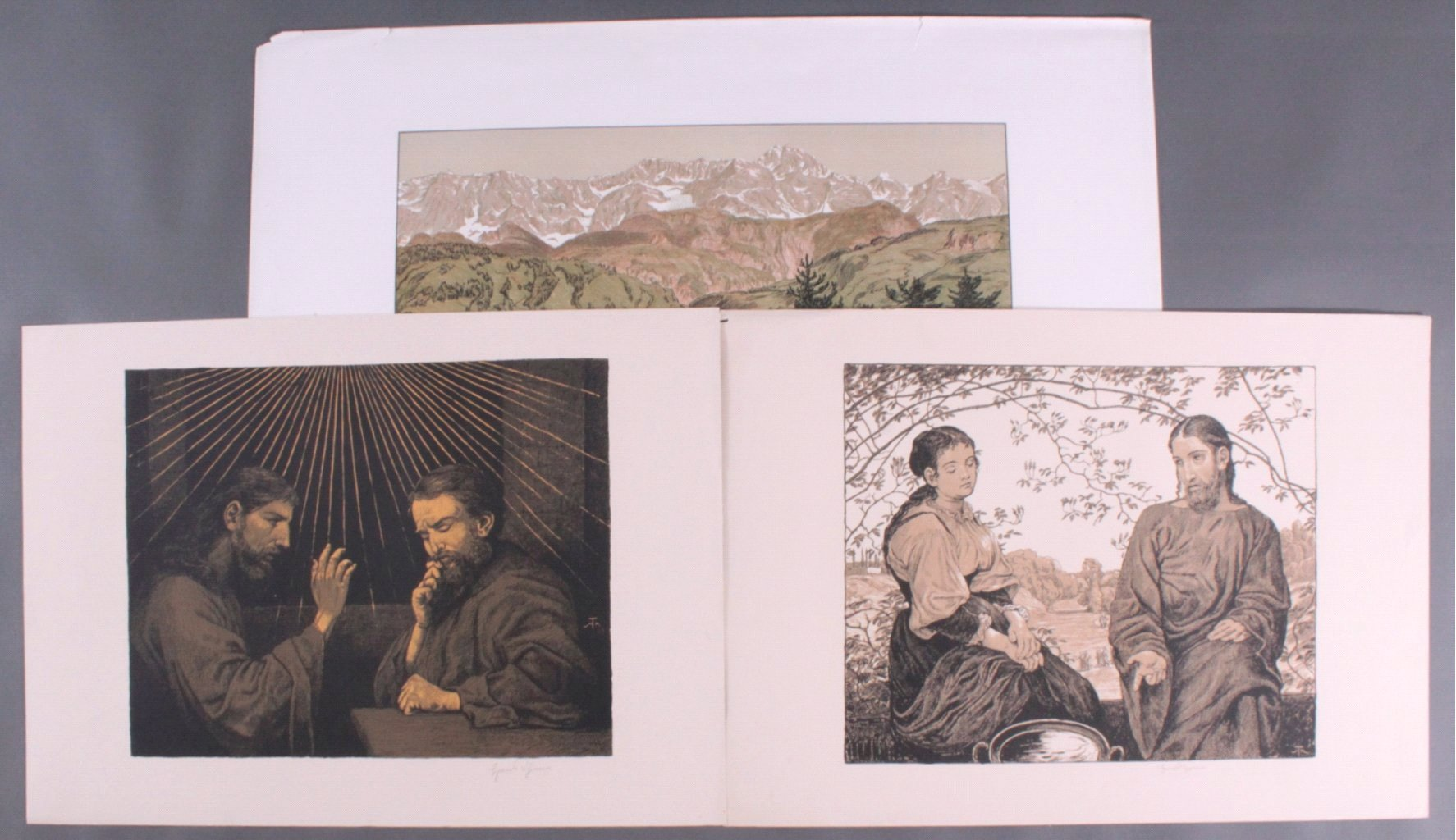 Hans Thoma 1839-1924. Jesus und Ritodemus (1903)