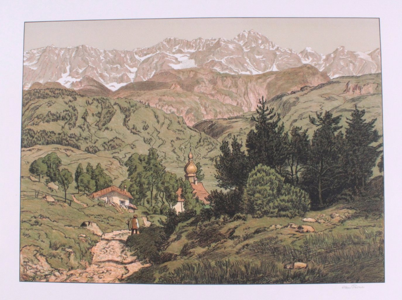 Hans Thoma 1839-1924. Jesus und Ritodemus (1903)-4