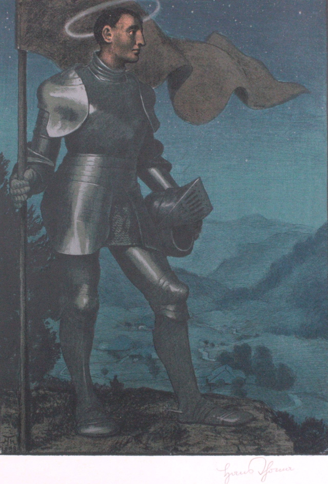 Hans Thoma 1839-1924. Der Talhüter (1898)-1