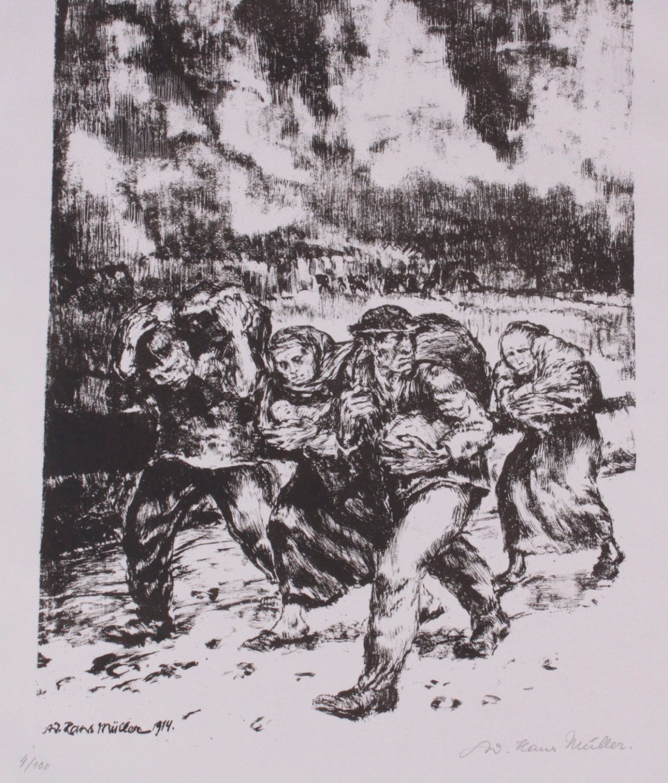 Hans Adolf Müller (1888-1934), Lithographie