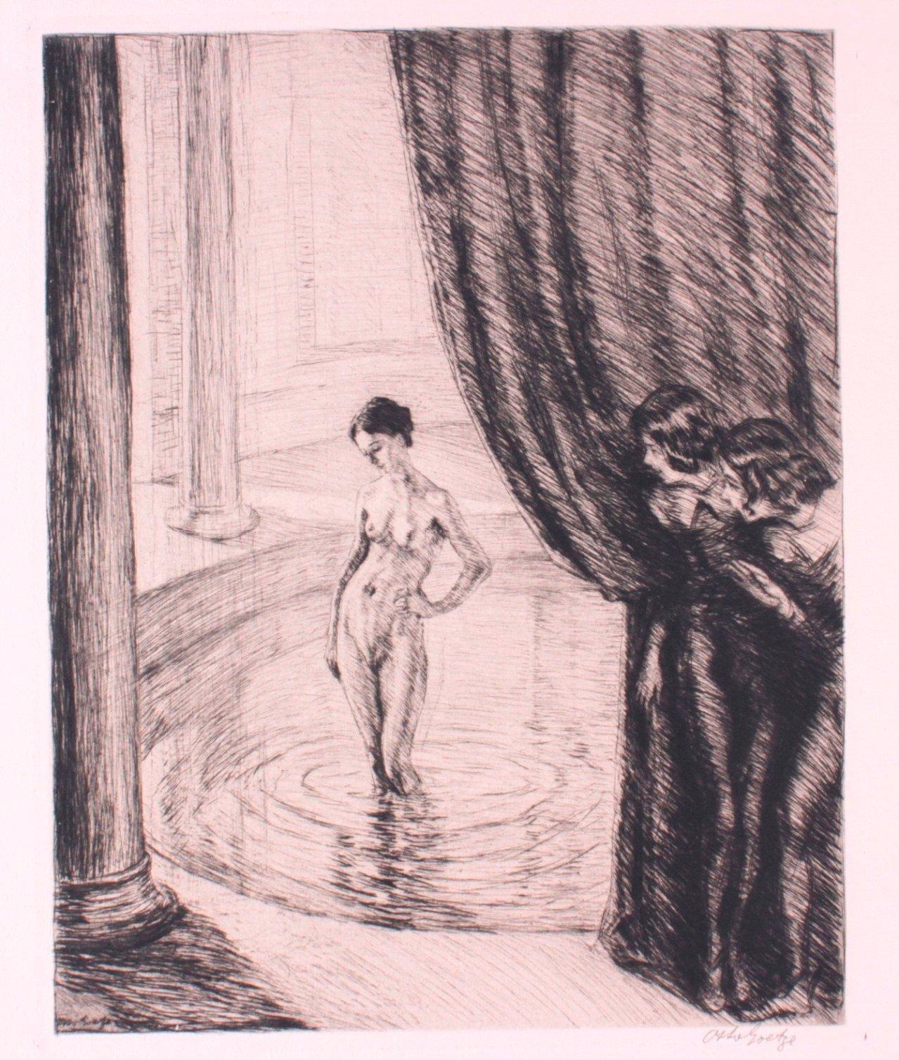 Otto Goetze 1868-1931, Badende