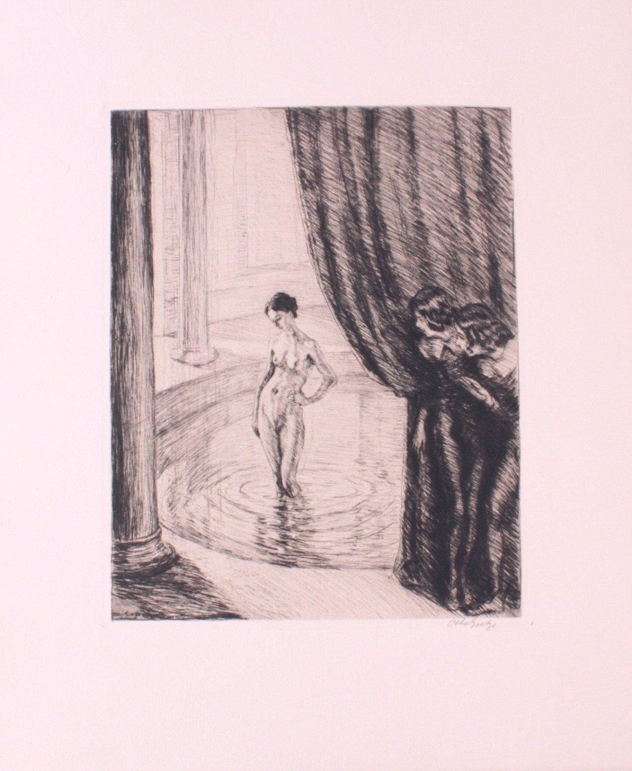 Otto Goetze (1868-1931), Badende-1