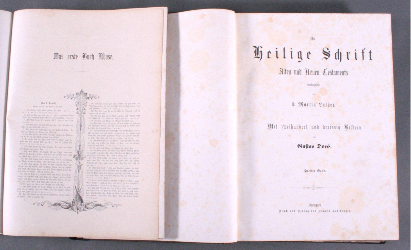 Doré – Bibel 2 Bände, wohl 1884-1