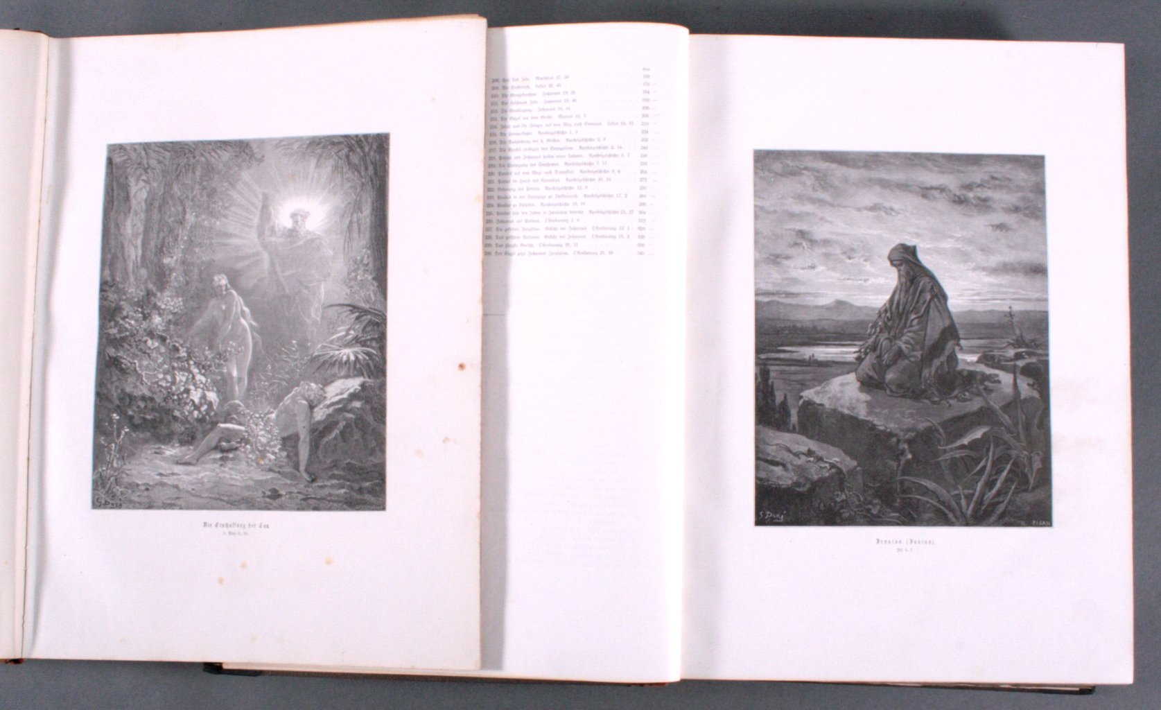 Doré – Bibel 2 Bände, wohl 1884-2
