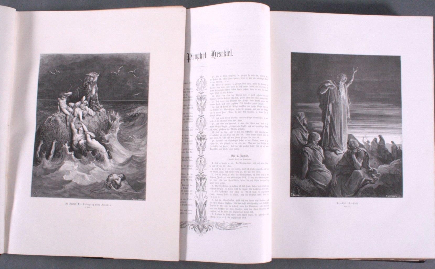 Doré – Bibel 2 Bände, wohl 1884-3