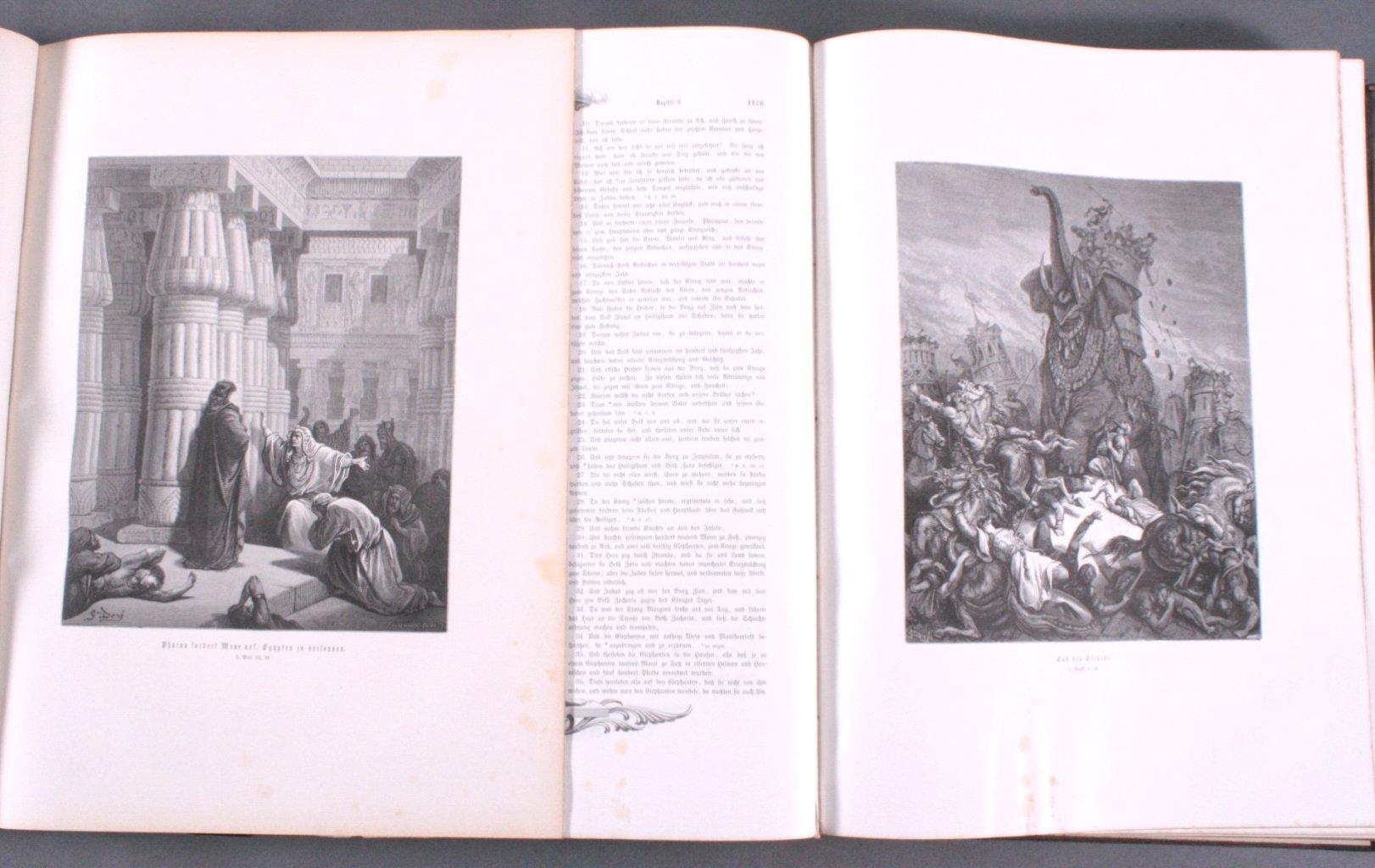 Doré – Bibel 2 Bände, wohl 1884-4
