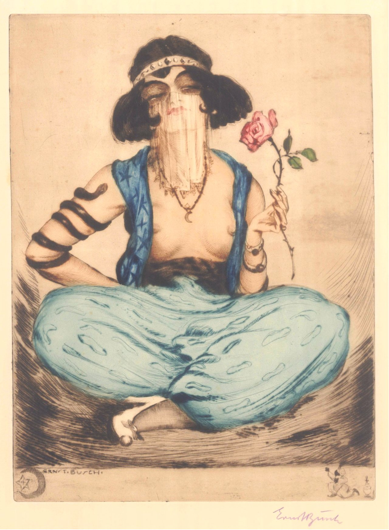 Ernst Busch, Rosen von Istanbul