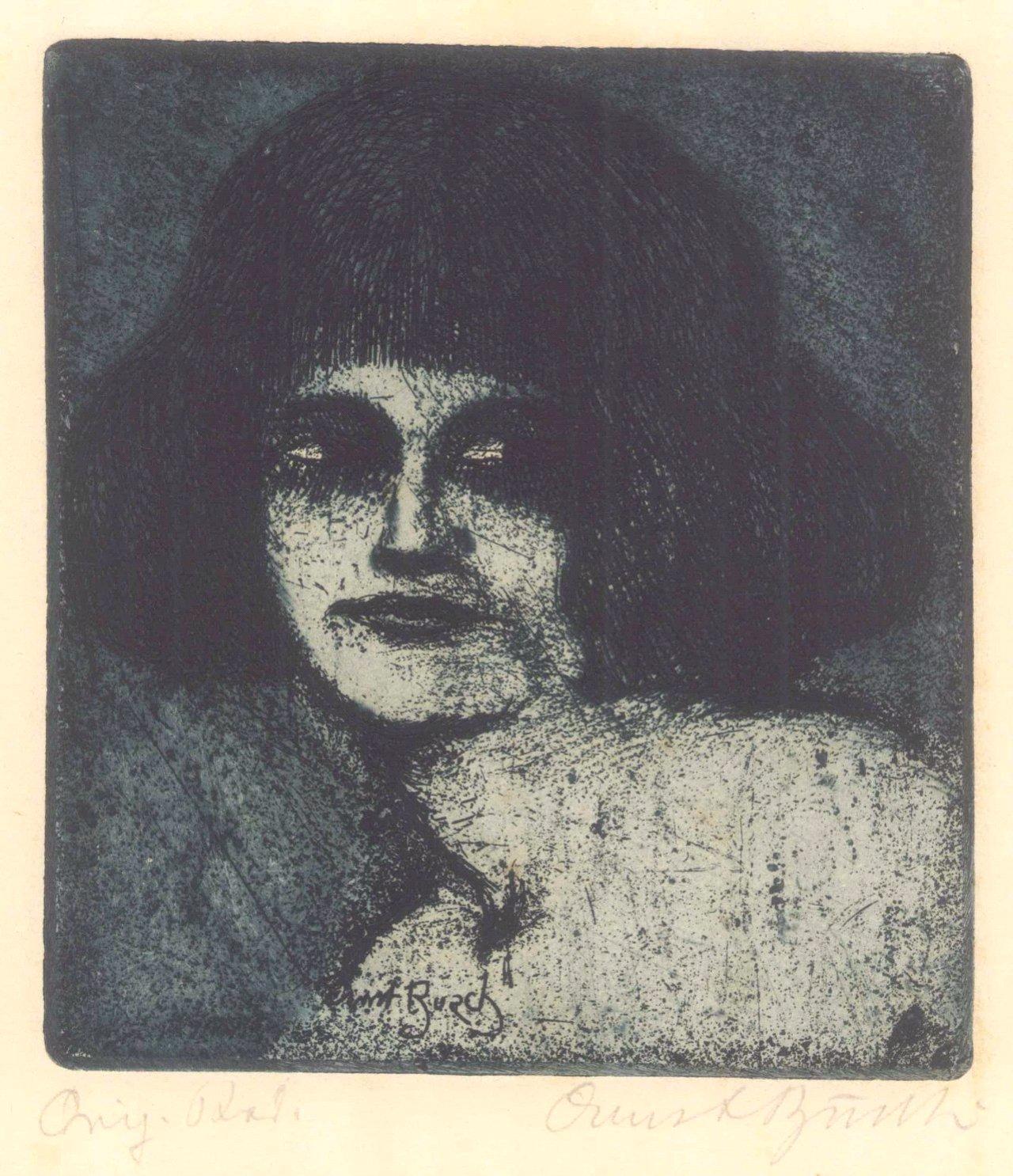 Ernst Busch, Mädchenkopf