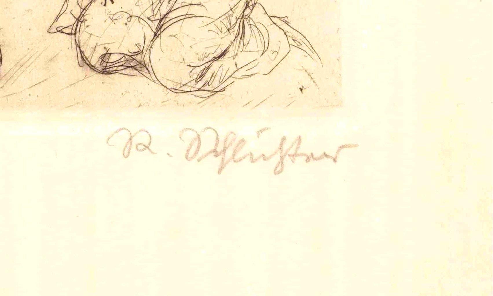 Rudolf Schlichter 1890-1955. Die Angebetete-2