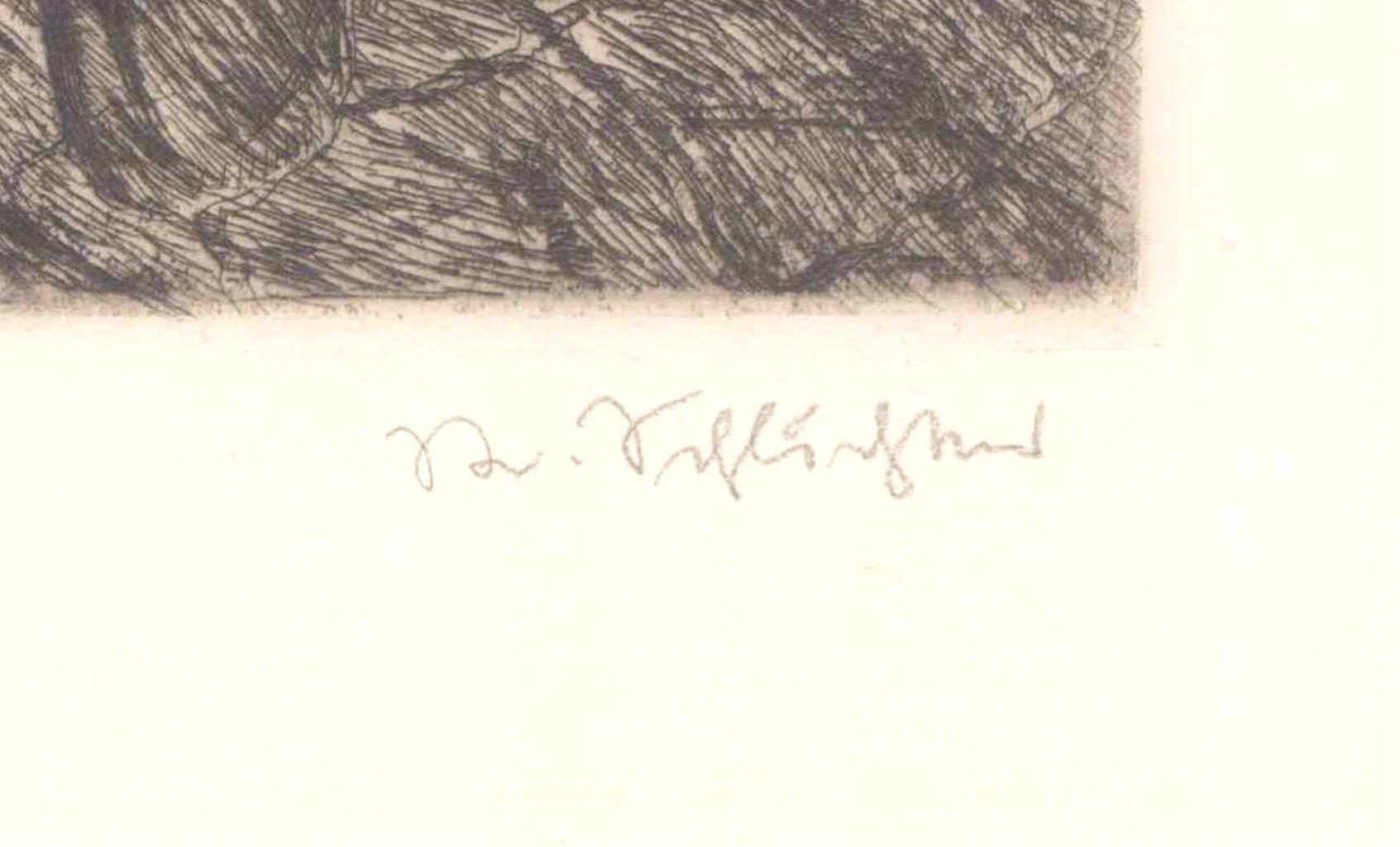 Rudolf Schlichter 1890-1955. Lesendes Mädchen-2