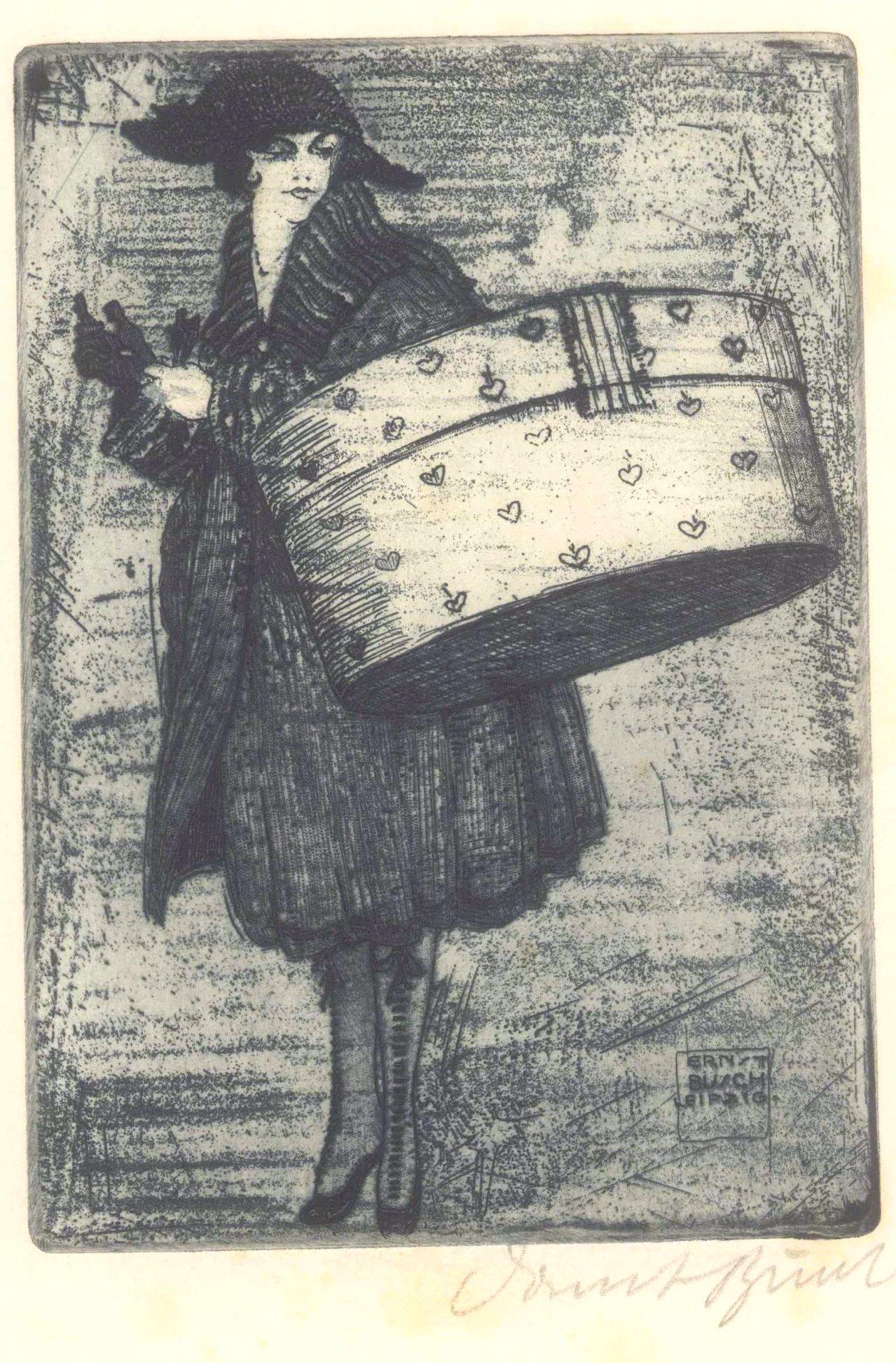 Ernst Busch 1920. Gisette