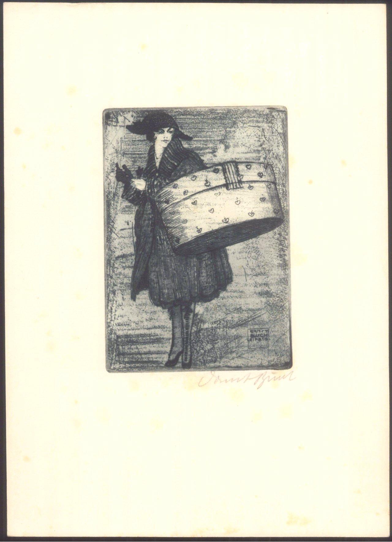 Ernst Busch 1920. Gisette-1
