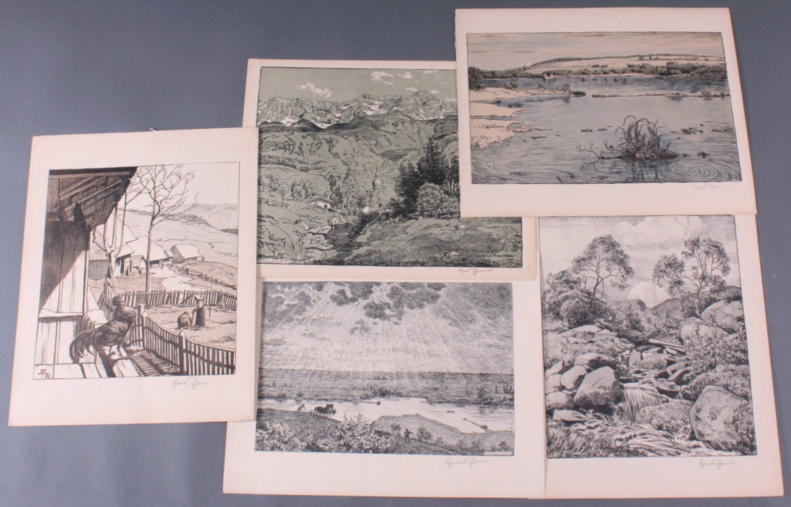 Hans Thoma 1839-1924. Deutsche Landschaften