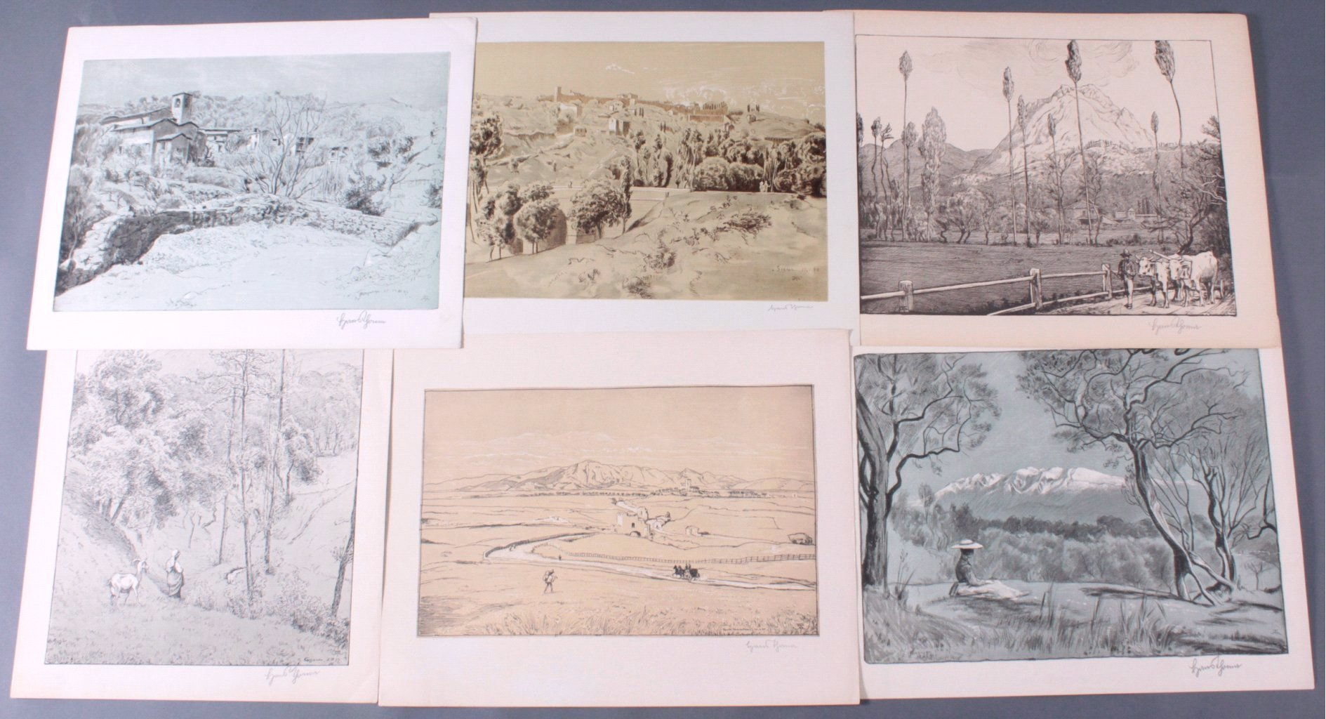 Hans Thoma 1839-1924, Malerische Landschaften