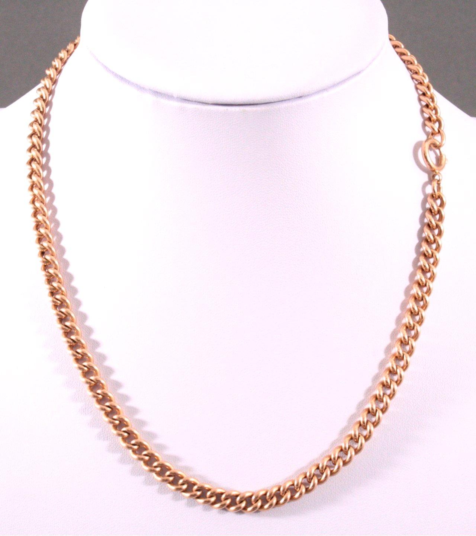 Halskette, 585/000 Gelb Gold