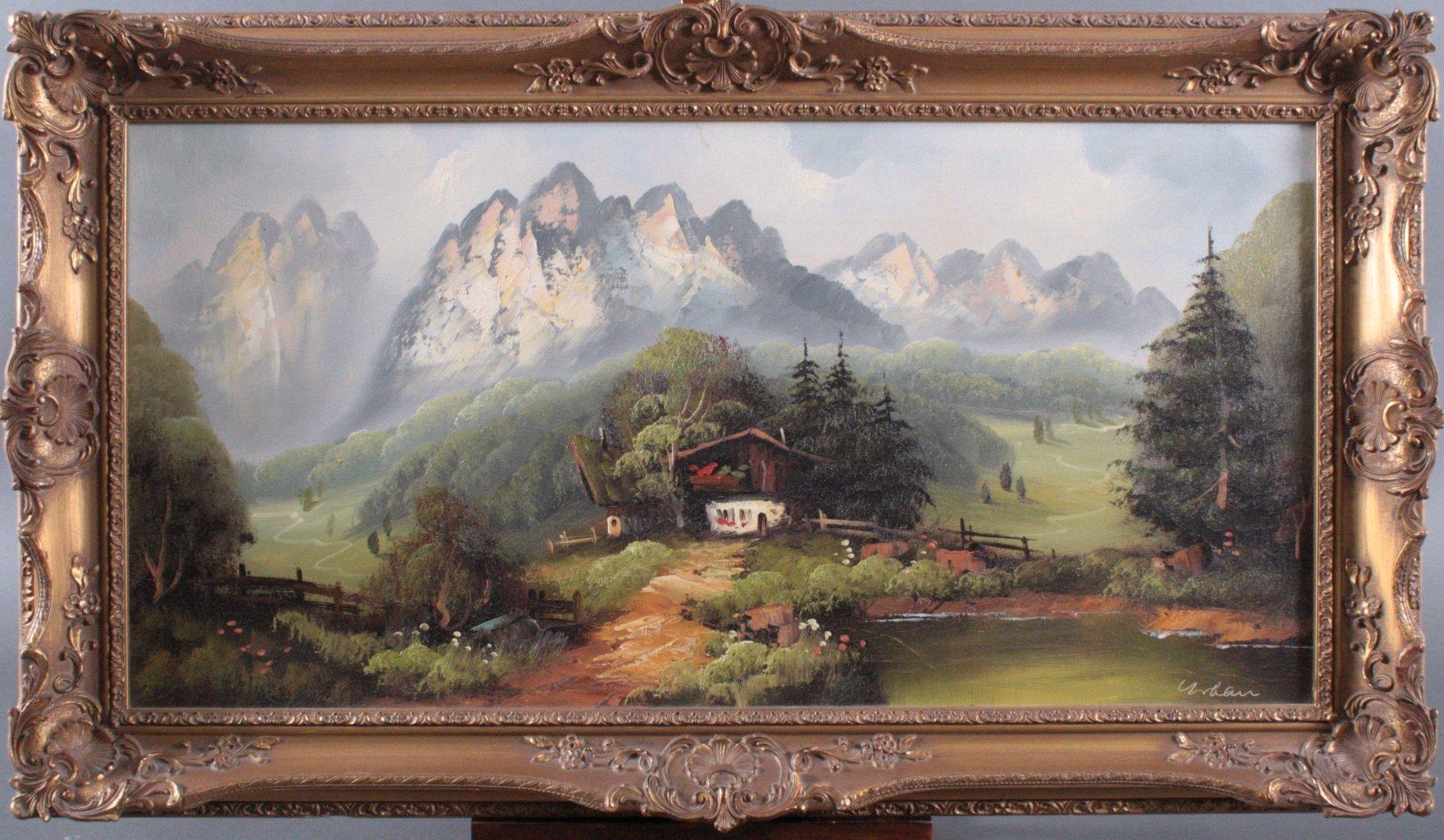 Hermann Urban (1866-1946), Hochalm