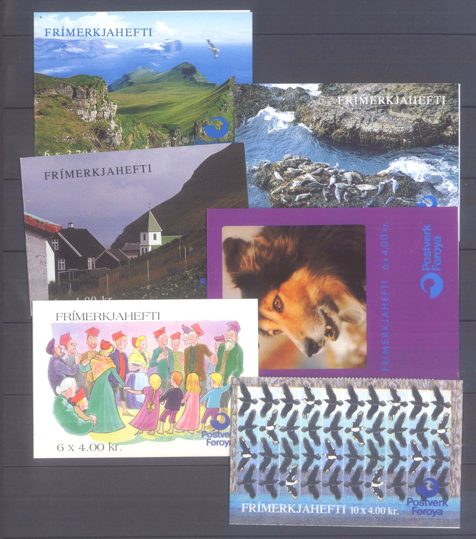 FÄRÖER 1975-1995, Katalogwert 600,- Euro.-3