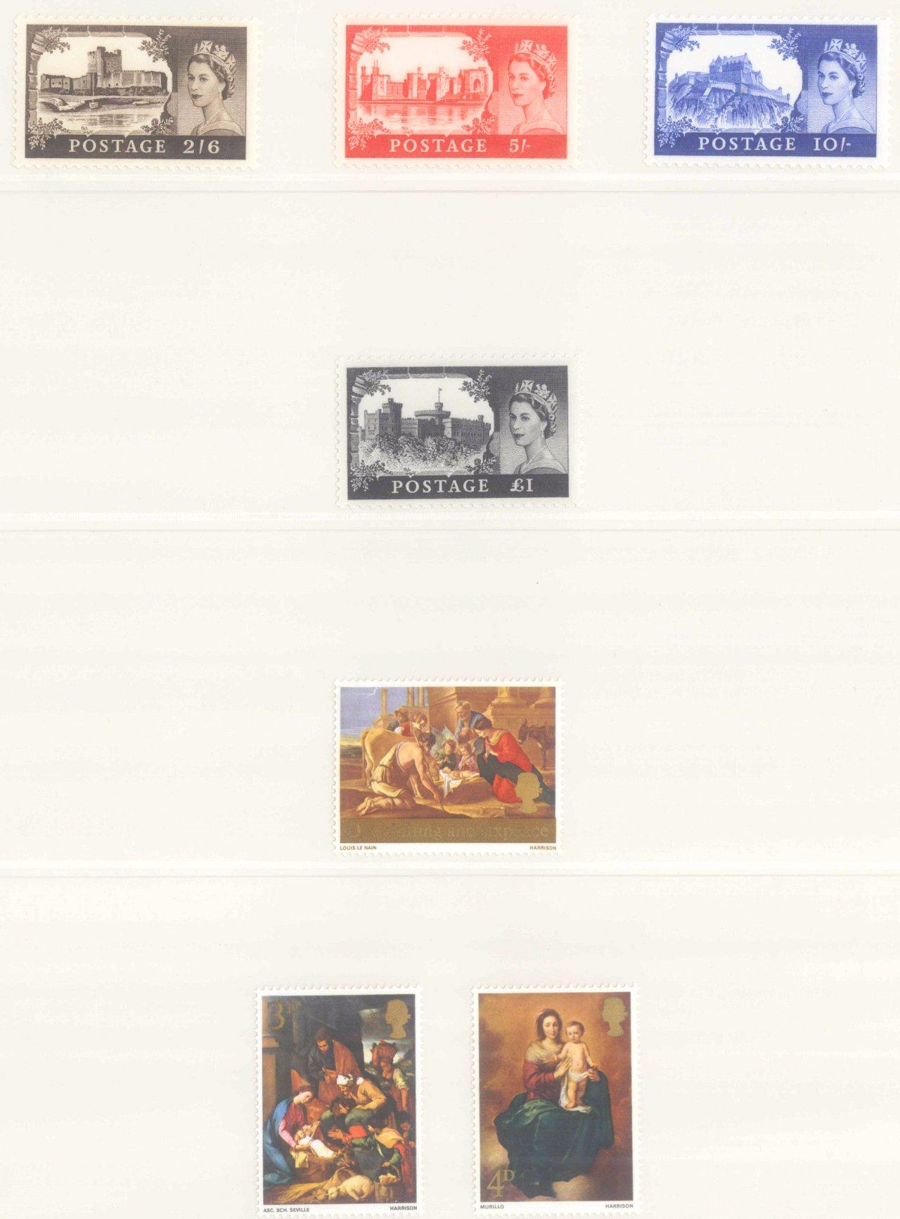 GROSSBRITANNIEN 1967-1985, NOMINALE: 82,- BRITISCHE PFUND-2