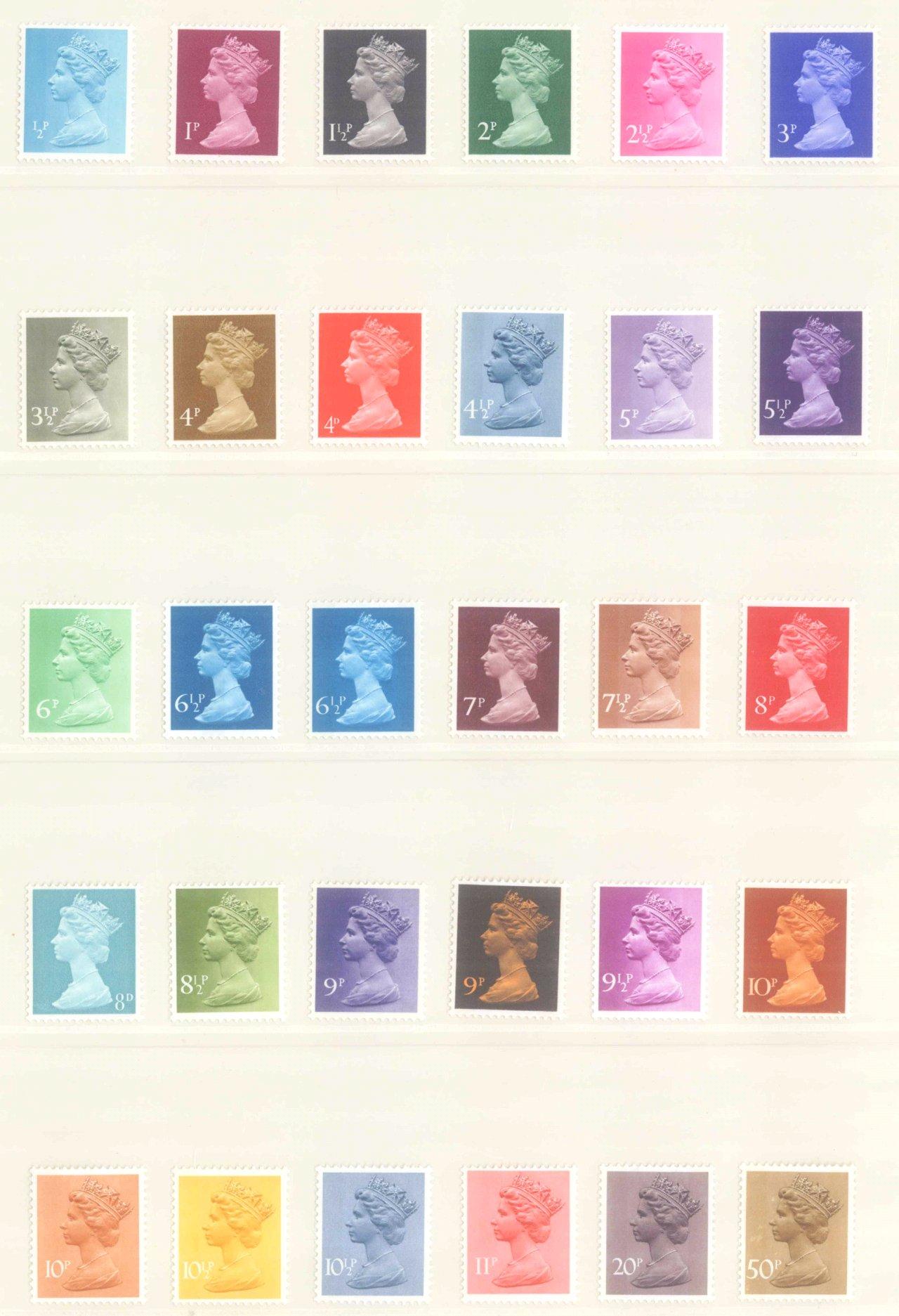 GROSSBRITANNIEN 1967-1985, NOMINALE: 82,- BRITISCHE PFUND-4