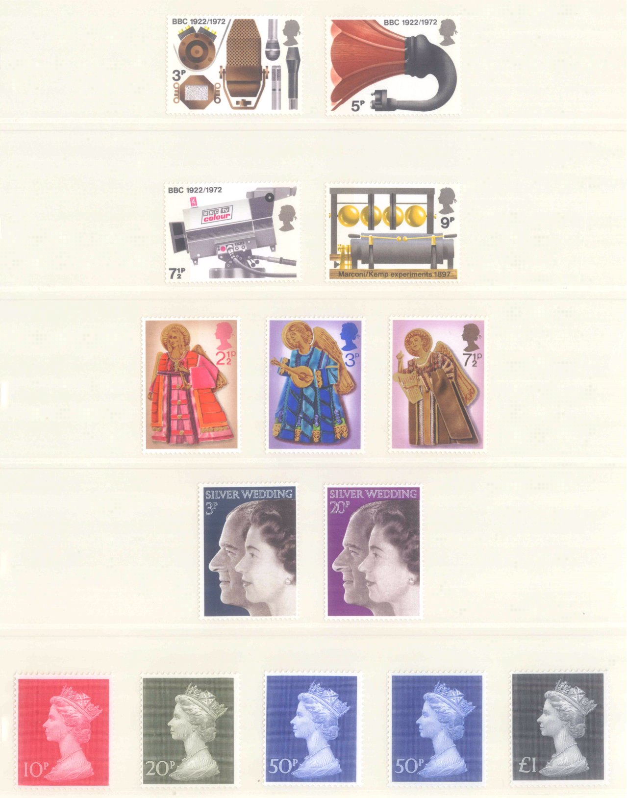 GROSSBRITANNIEN 1967-1985, NOMINALE: 82,- BRITISCHE PFUND-6