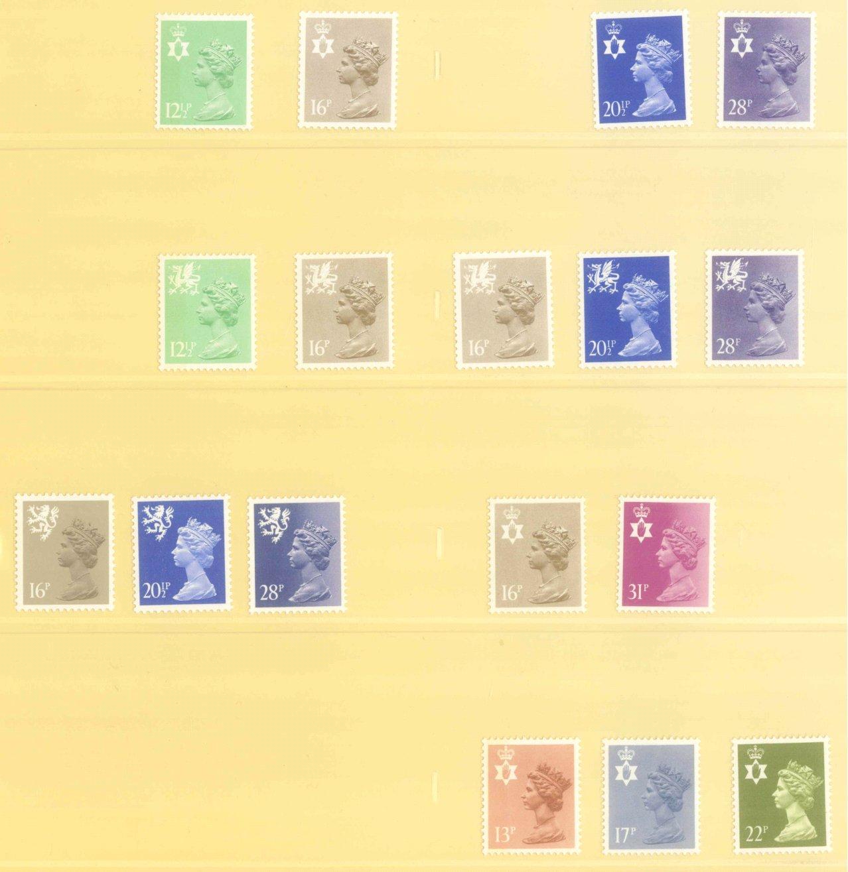 GROSSBRITANNIEN 1967-1985, NOMINALE: 82,- BRITISCHE PFUND-12