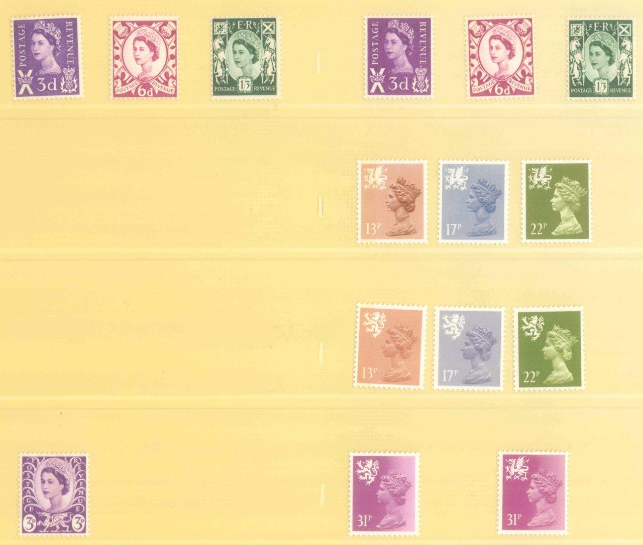 GROSSBRITANNIEN 1967-1985, NOMINALE: 82,- BRITISCHE PFUND-13