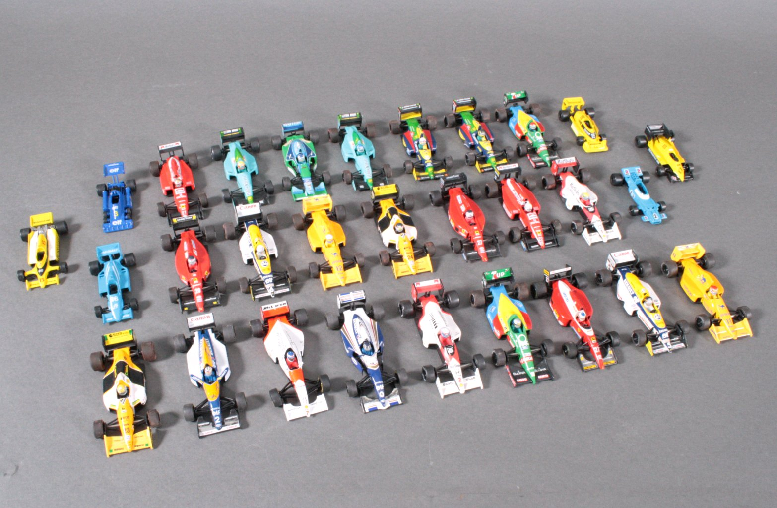 Sammlung F1 Fahrzeuge, Maßstab 1:43