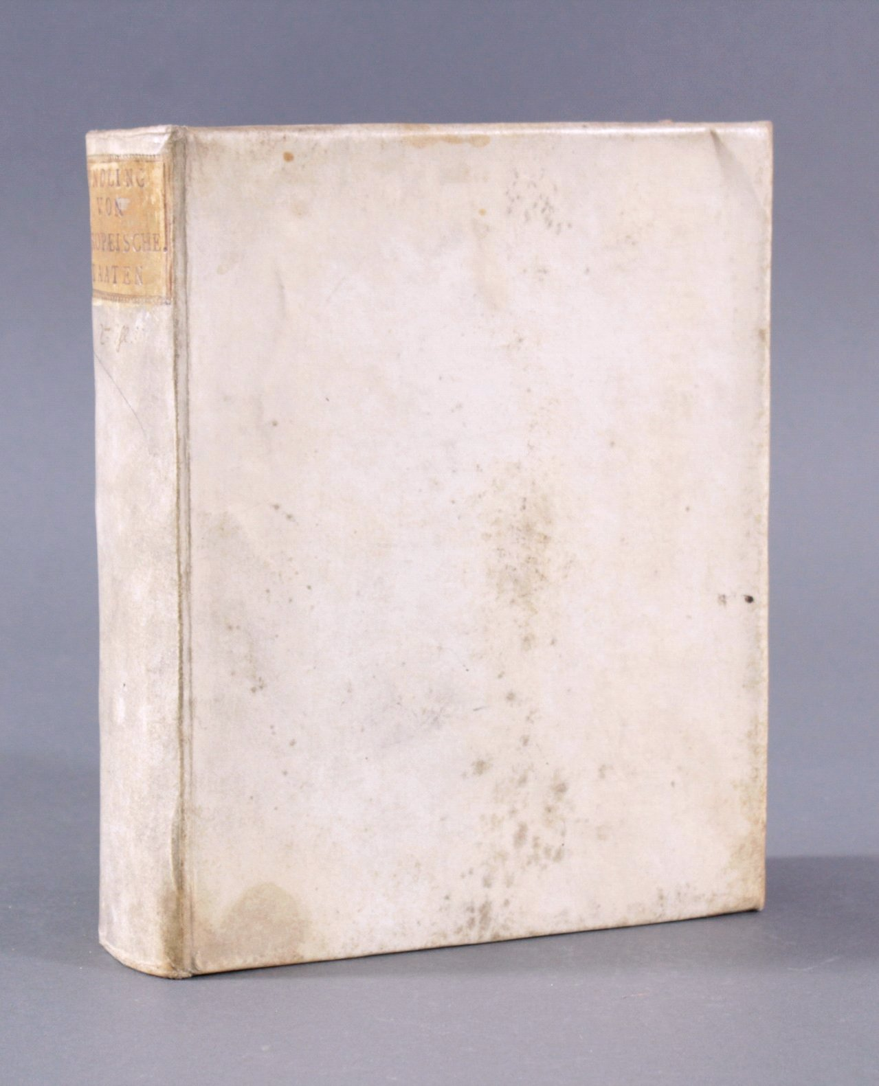 D. Nic. Hier Gundlings Discours, 1734