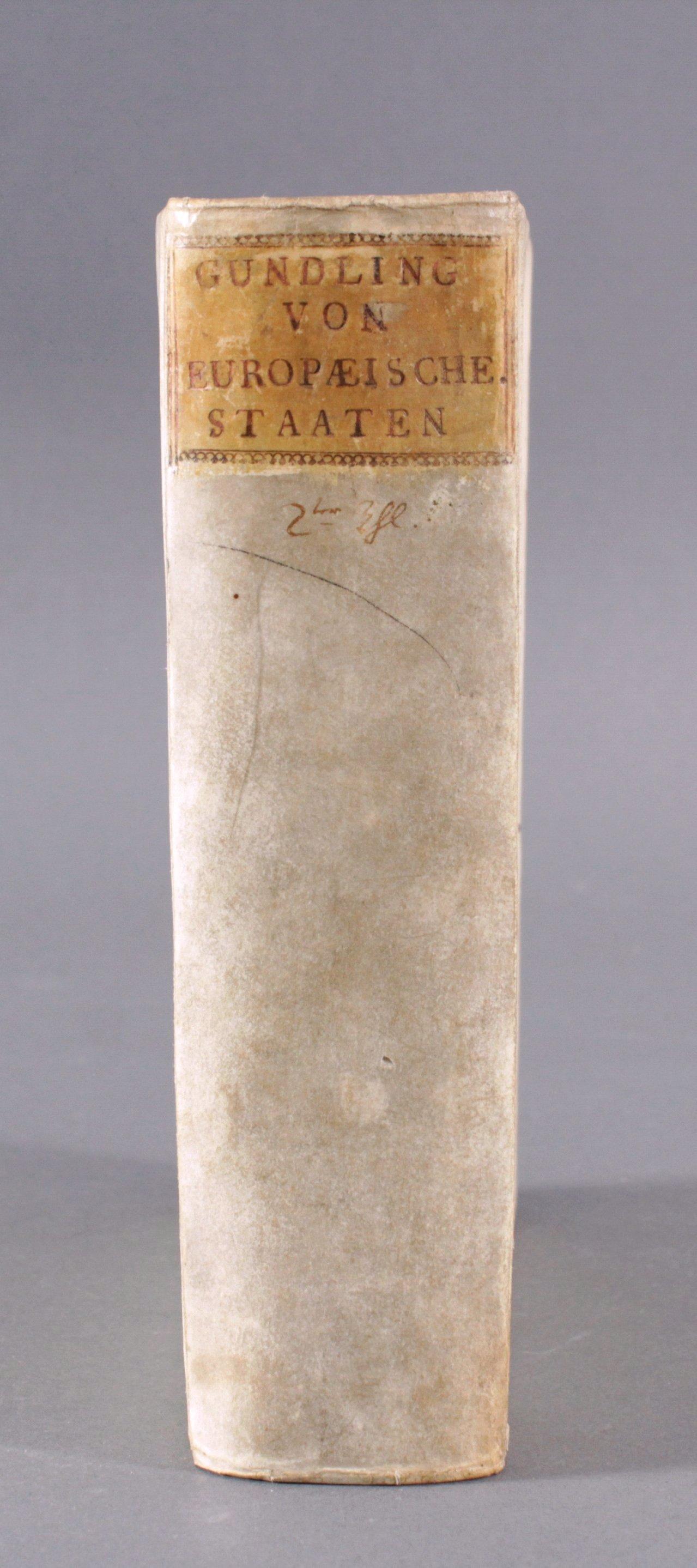 D. Nic. Hier Gundlings Discours, 1734-1
