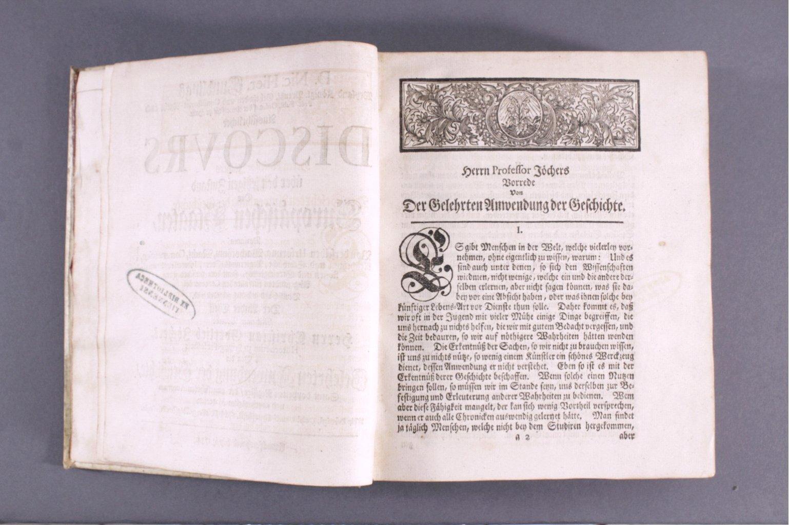 D. Nic. Hier Gundlings Discours, 1734-3