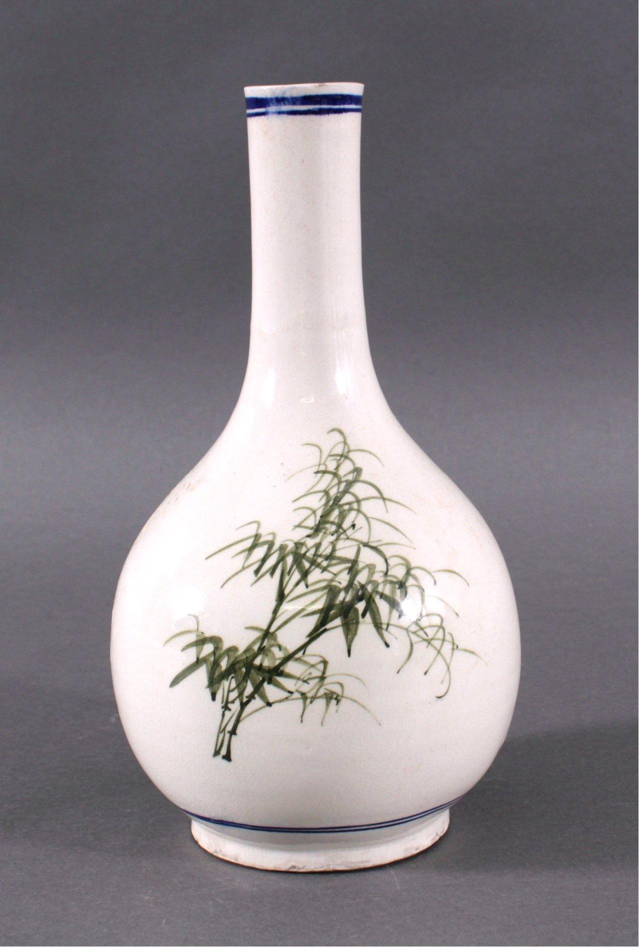 Chinesische Fayence-Vase um 1900-1