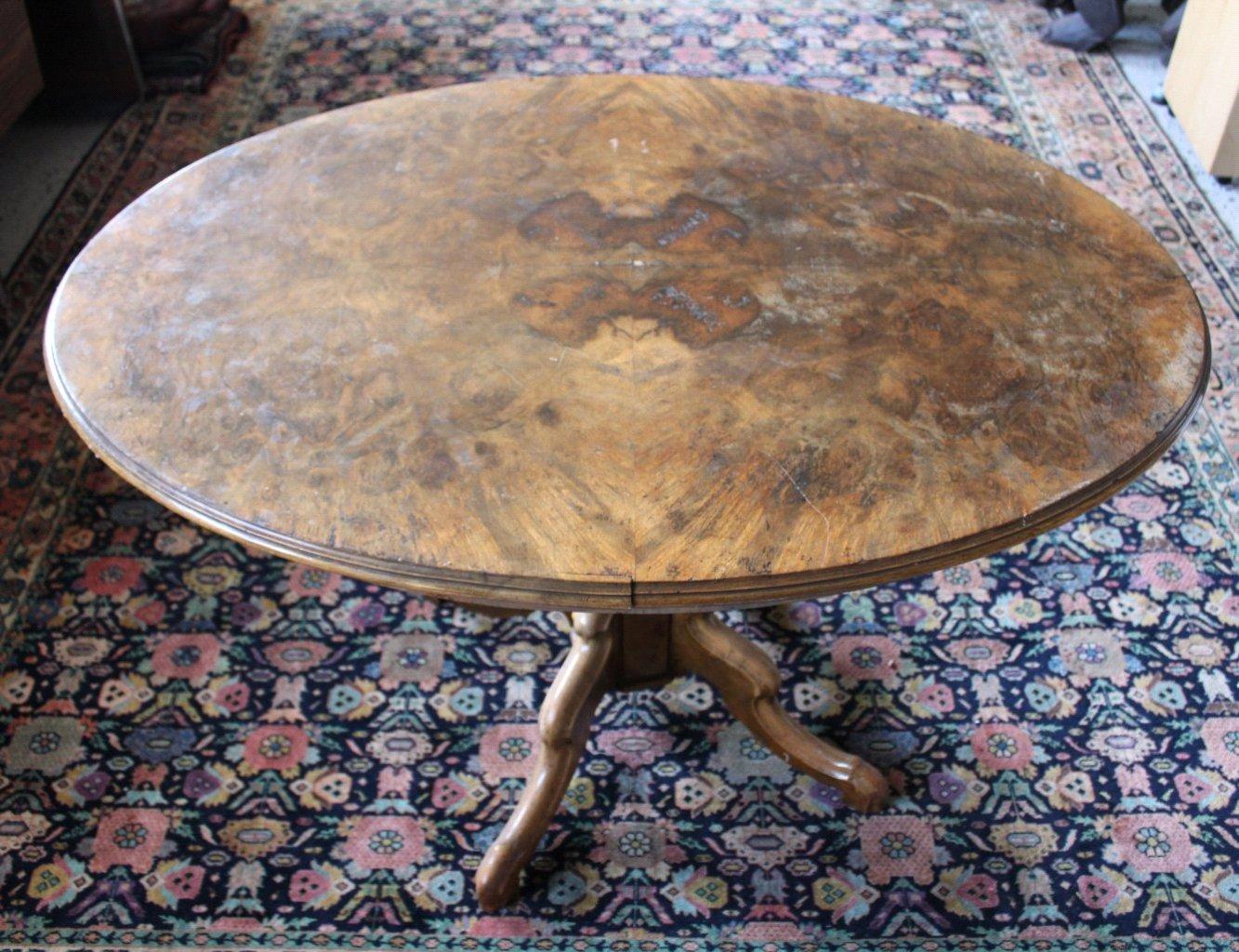 Ovaler Gründerzeit Tisch-1