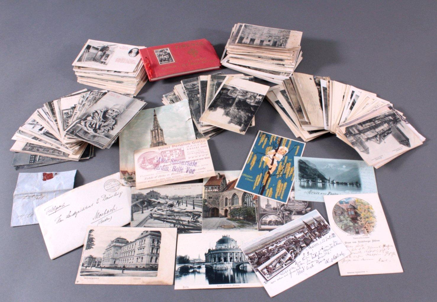Über 200 Postkarten, zumeist aus Deutschland vor 1945