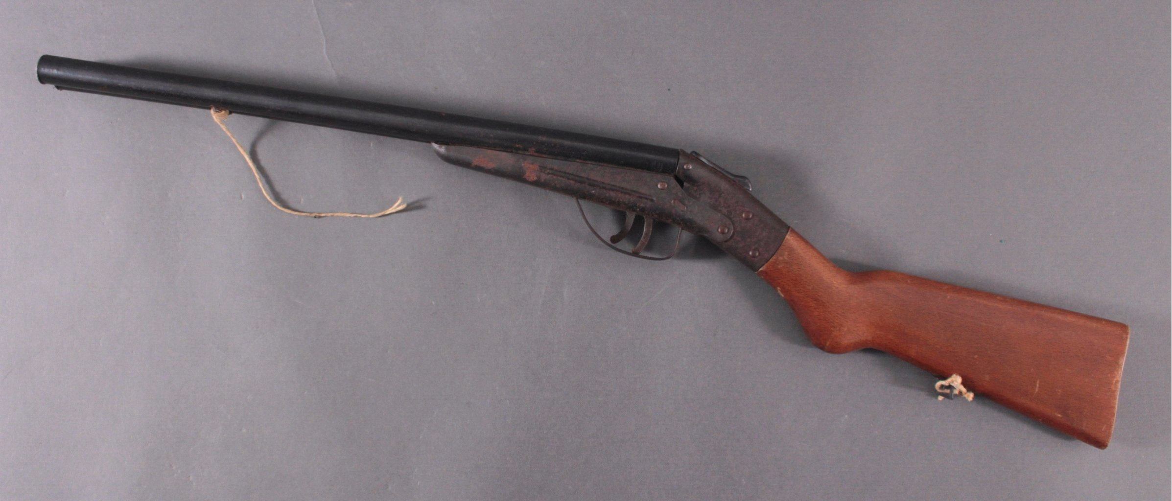 Spielzeuggewehr 1. Hälfte 20. Jh. Doppelflinte-1