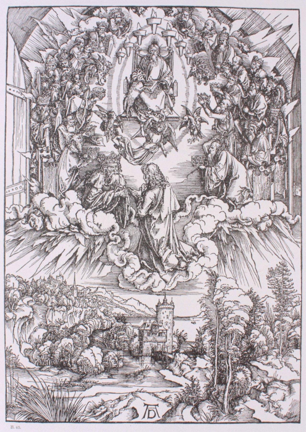 Die Offenbarung St. Johannis von Albrecht Dürer-3