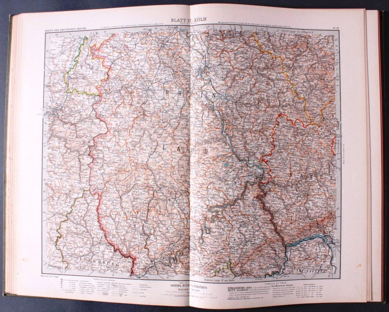 Vogels Karte des Deutschen Reichs-2