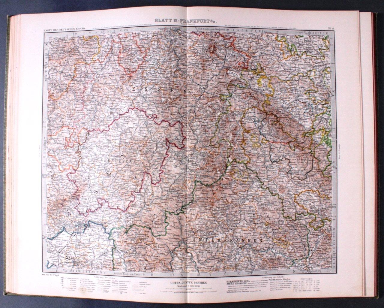 Vogels Karte des Deutschen Reichs-3