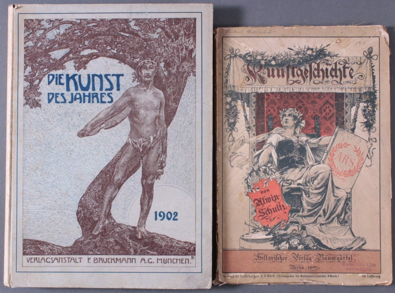 Zwei Kunstbücher