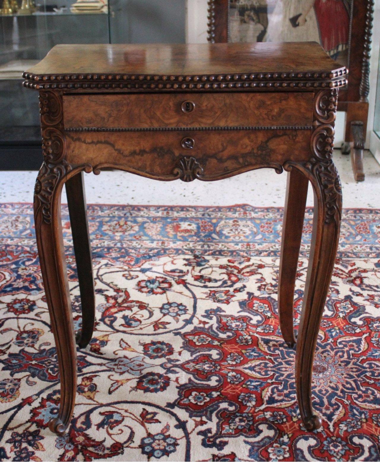 Nähtisch/Spieltisch, um 1850, Louis Philippe
