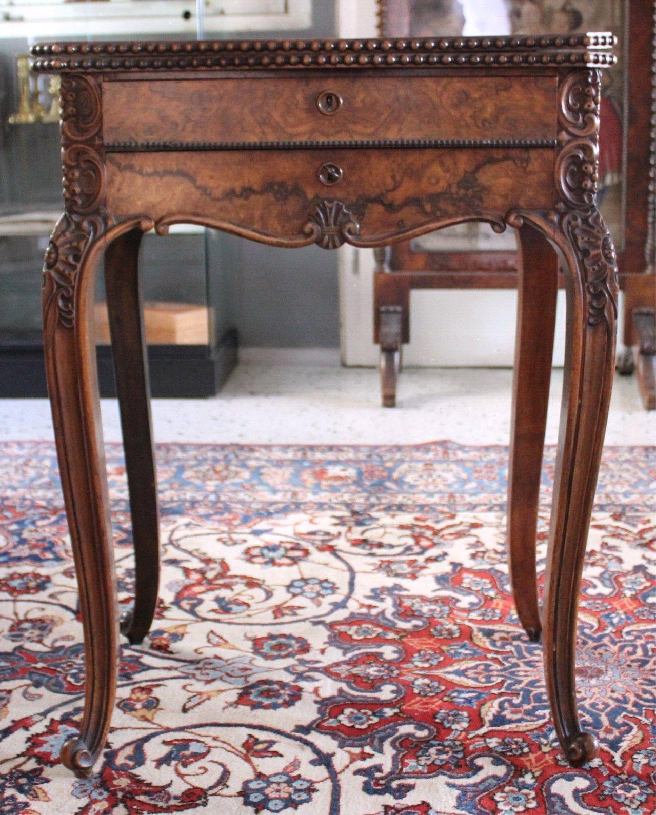 Nähtisch/Spieltisch, um 1850, Louis Philippe-1