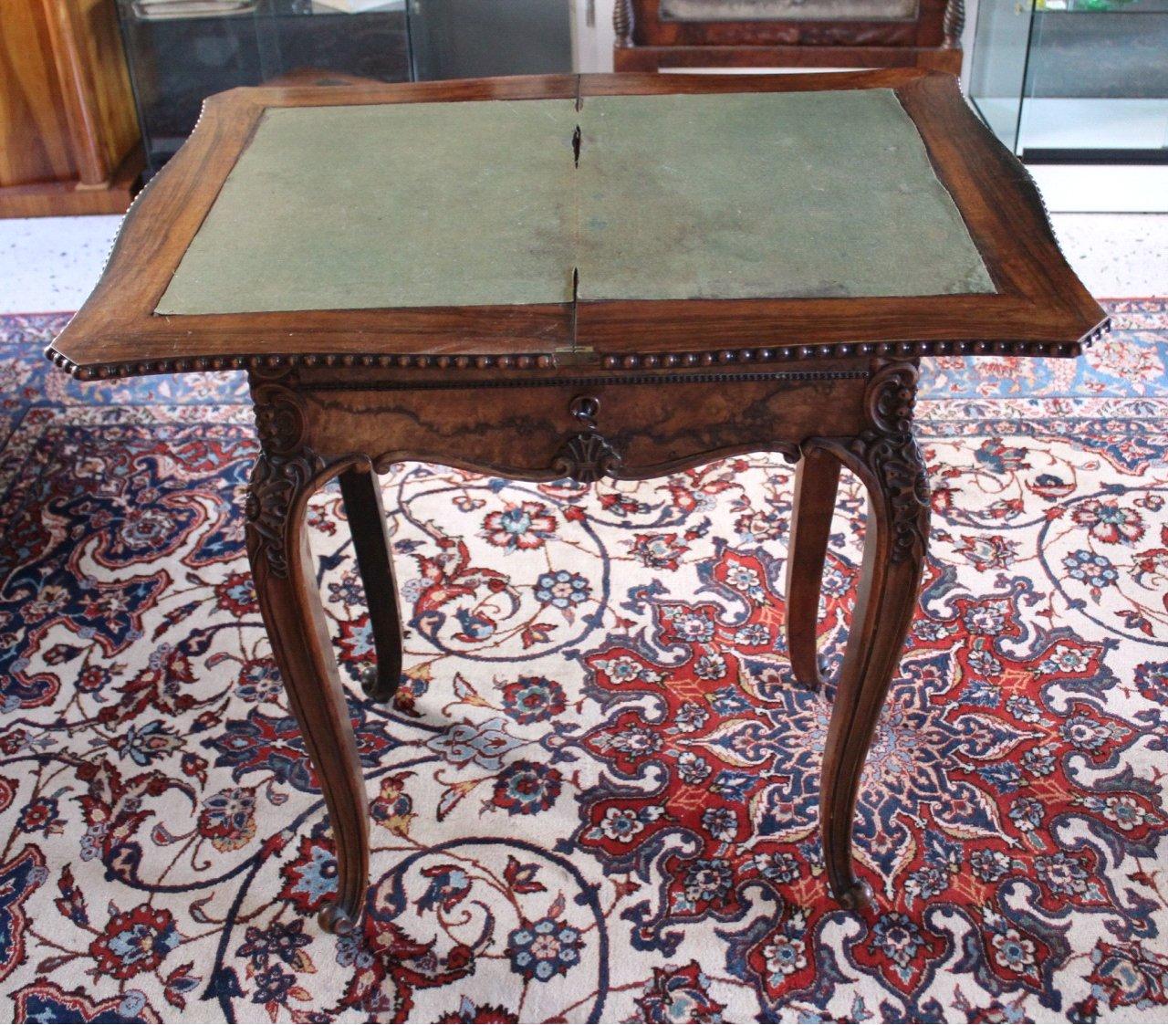 Nähtisch/Spieltisch, um 1850, Louis Philippe-2