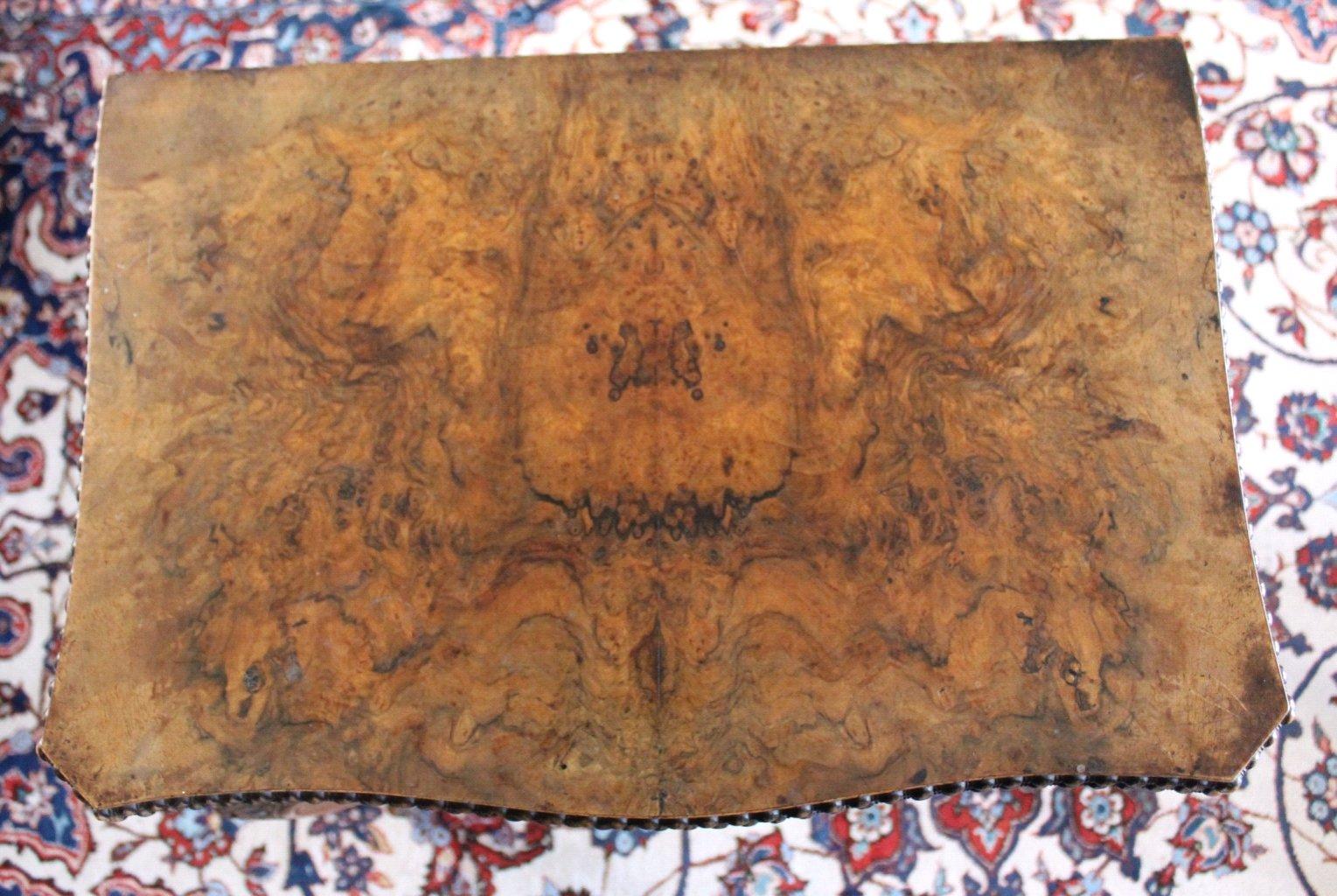 Nähtisch/Spieltisch, um 1850, Louis Philippe-4
