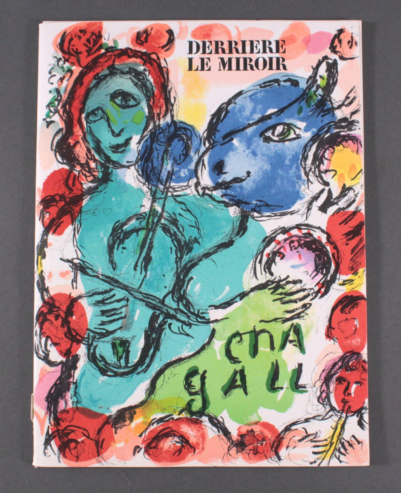 Derriere le miroir marc chagall badisches auktionshaus for Marc chagall derriere le miroir